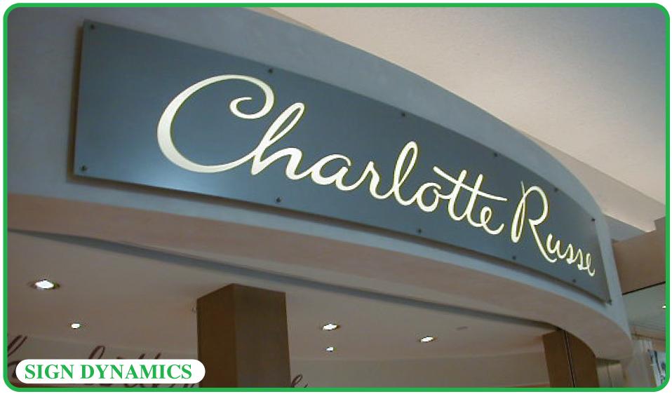 Interior Mall Signs Sign Dynamics